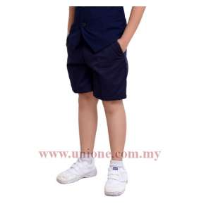 NO PLEAT NAVY BLUE (U6476P)